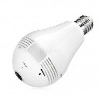 JW-DP360 360° Panoramic Fisheye 3 MP WiFi IP Bulb Camera