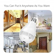 1.3 MP WiFi IP Bulb Camera