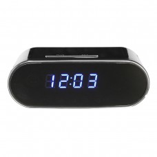 Wireless WiFi 1080P HD Spy Hidden Alarm Clock Camera