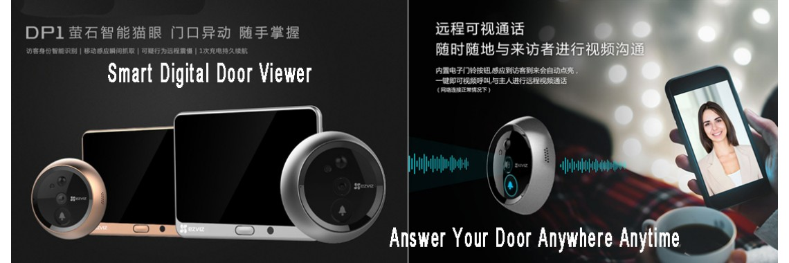 Smart Digital Door Viewer