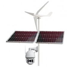 JW-H4RT-200HTF2 2M 18X IR150M Wind Solar Hybrid Power WFI Camera