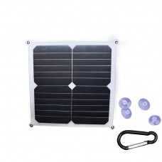 JH-SC12-5-S050140 SUNPOWER 14W 5V Portable Solar Charger with USB port for mobile phone