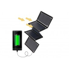 JH-SC43-S050360 SUNPOWER 36W 5V Portable Solar Pack Charger with USB port for outdoor activities
