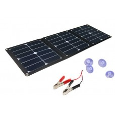 JH-SC50-S210420 SUNPOWER 42W Solar Charger with 18V DC & 5V USB Outputs for Laptop