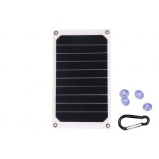 JH-SC6-3-S050060B SUNPOWER 6W 5V Mini Solar Charger with USB port for mobile phone