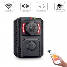 Body Worn Camera HD 1080P Police Security Night Vision 170° For Law Enforcement