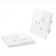 CG-TCKSFZ-04 4  Gang Smart switch and remote control suit - Smart home control system 86 glass panel Switch